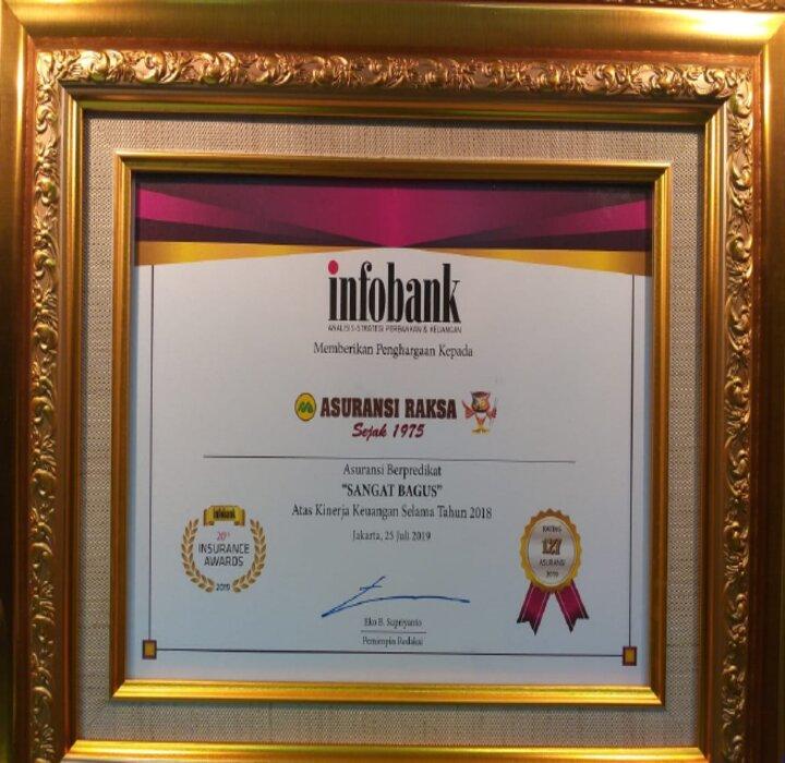 Infobank – Insurance award